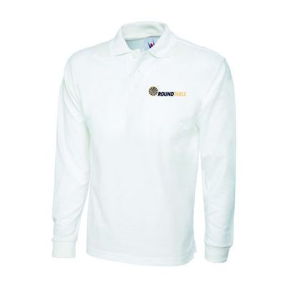 Round Table Long Sleeve Poloshirt Thumbnail