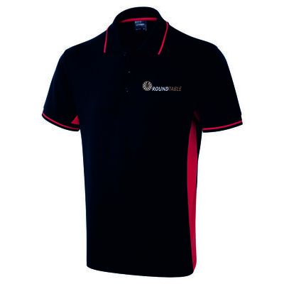 Round Table Two Tone Poloshirt Thumbnail