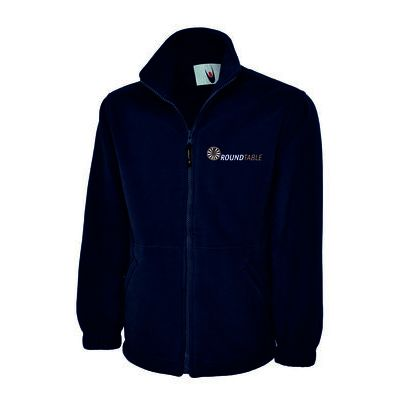 Round Table Classic Full Zip Micro Fleece Jacket Thumbnail