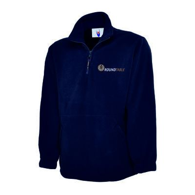 Round Table Premium 1/4 Zip Micro Fleece Jacket Thumbnail