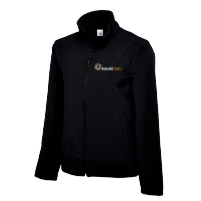 Round Table Classic Full Zip Softshell Jacket Thumbnail